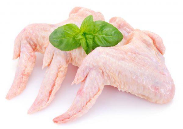 Alitas de pollo orgánico
