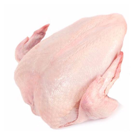 pechuga entera de pollo orgánico