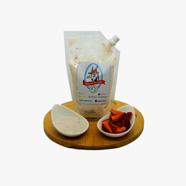 Yogurt de cabra orgánico