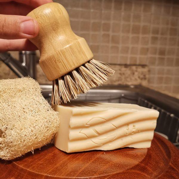 Jabón biodegradable de platos