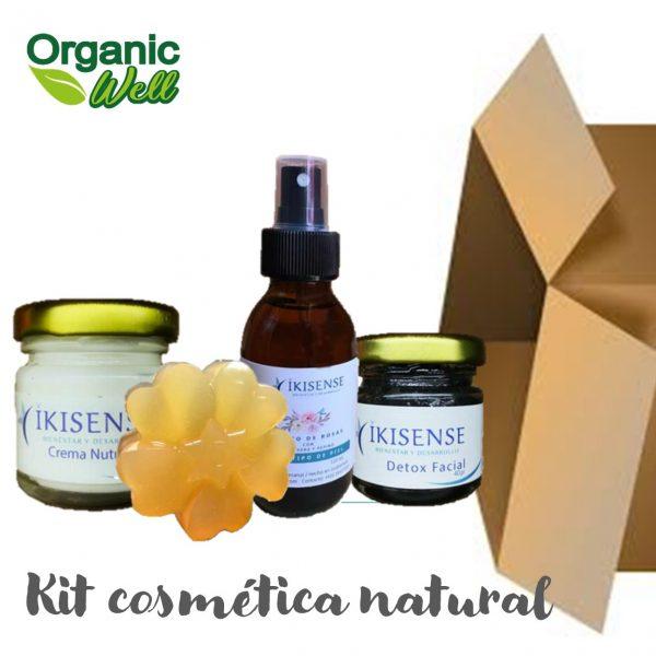 Kit cosmética natural rutina completa