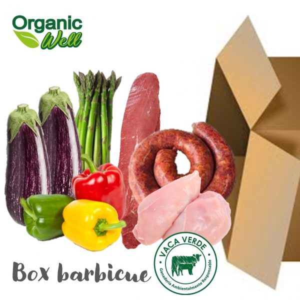 Box barbecue lomito, chorizo argentino y pollo orgánico
