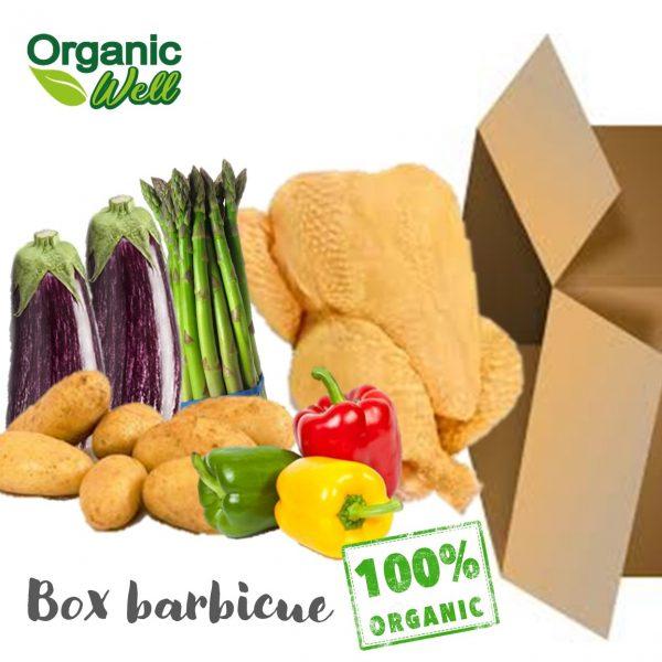 Box barbecue pollo orgáinco