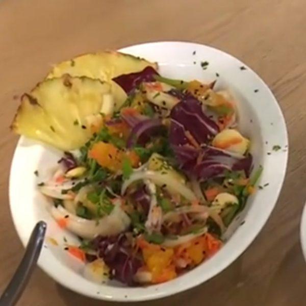 Receta ensalada estilo oriental